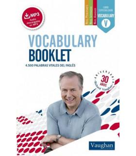 Vocabulary Booklet Pocket